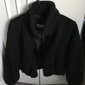 Black Teddybear Jacket